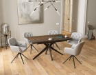 dining-table-fascination pieds etoile-steel-ceramics-black-lacquered-steel-dt087sd-1-0