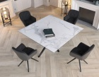 dining-table-fascination pieds etoile-mat-marble-ceramics-black-lacquered-steel-dt087ma-4-0