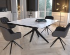 dining-table-fascination pieds etoile-mat-marble-ceramics-black-lacquered-steel-dt087ma-2-0